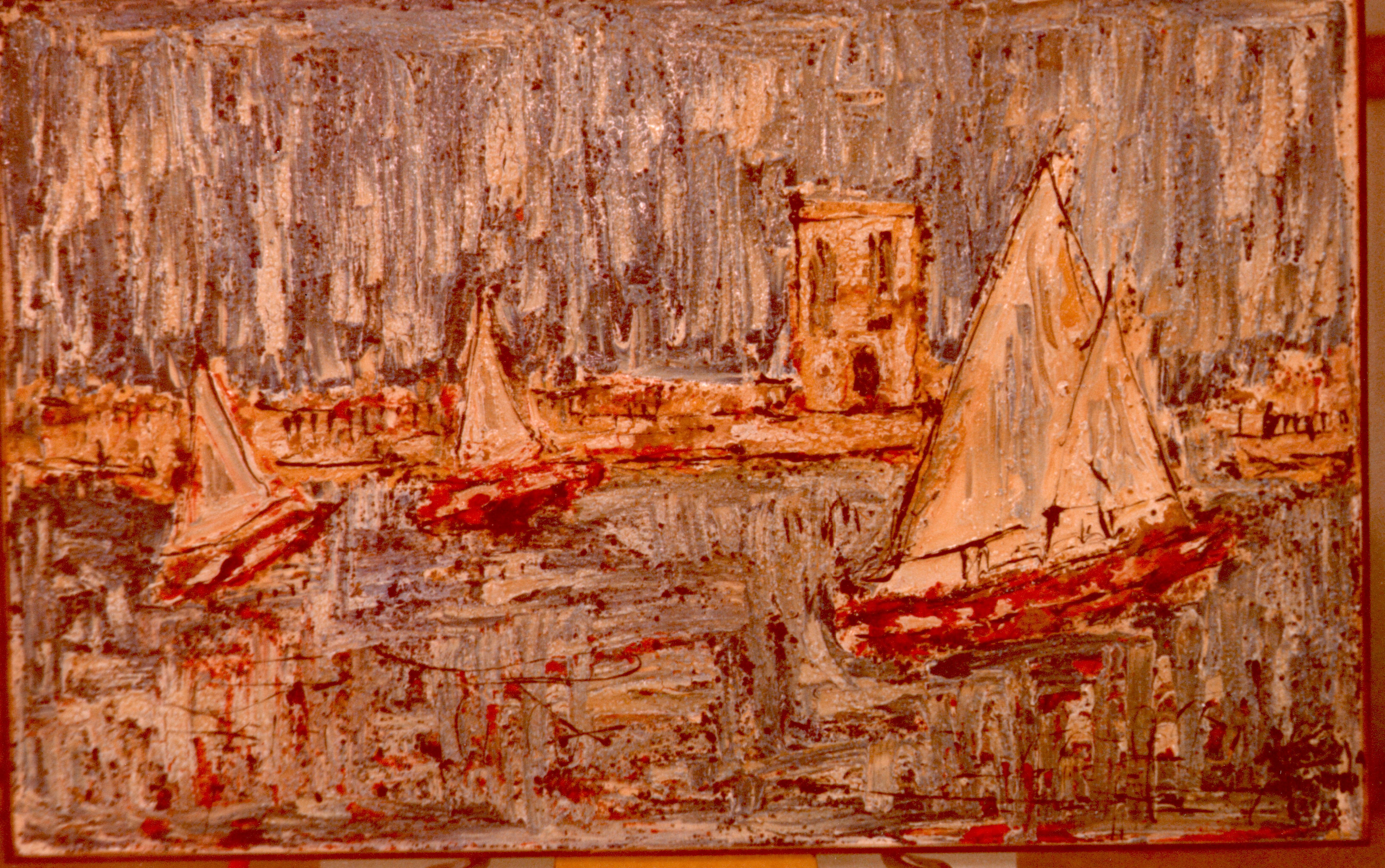 Quadri vendita online pescherecci a bari opera di pittura for Tecniche di pittura