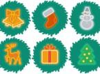 mediajob.eu- icone natalizie verdi indice