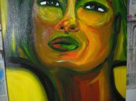 Quadro olio su tela arte e artisti disegno con mediajob.eu