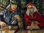 Uomo e donna. Dipinto olio su tela. Vendita quadri.
