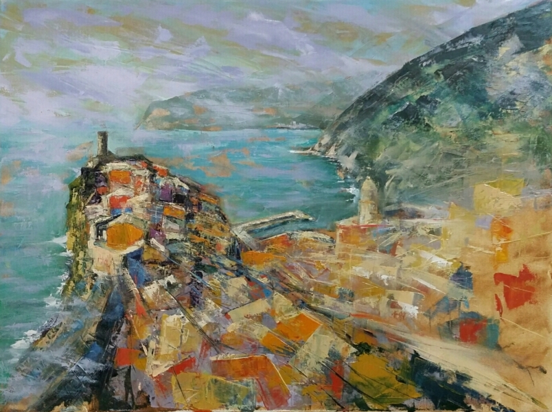 Paesaggi marini dipinti lettura opera antonio marini for Paesaggi marini dipinti