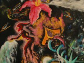 quadro-pittura-chaos-olio-su-tela-artista-iuliacarmina-mediajob-eu