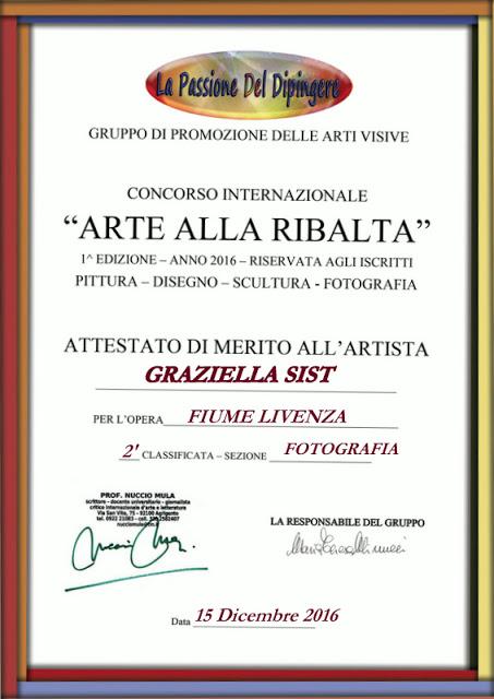 ATTESTATO MERITO - GRAZIELLA SIST