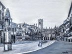 Dipinto quadro in vendita Verona piazza Erbe arte