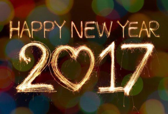 Felice anno nuovo 2017 Capodanno. Buone feste.