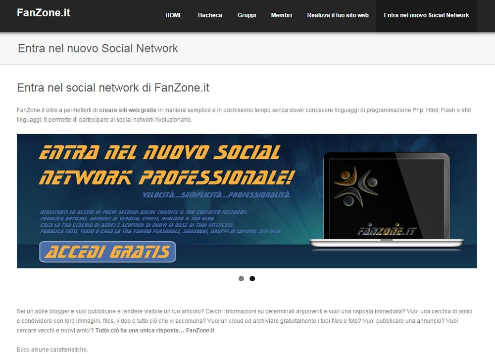 sito-social-network-fanzone-it-crea-il-tuo-sito-web-gratis-e-partecipa-al-social-network