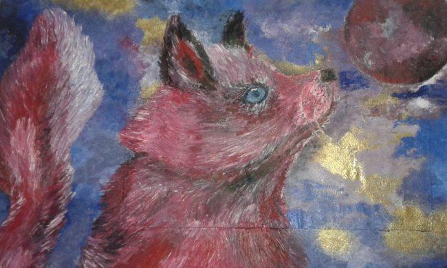 Dipinto opera Quando i sogni decadono olio su tavola 35x50