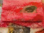 L'occhio della dea 50x50 su poliespanso
