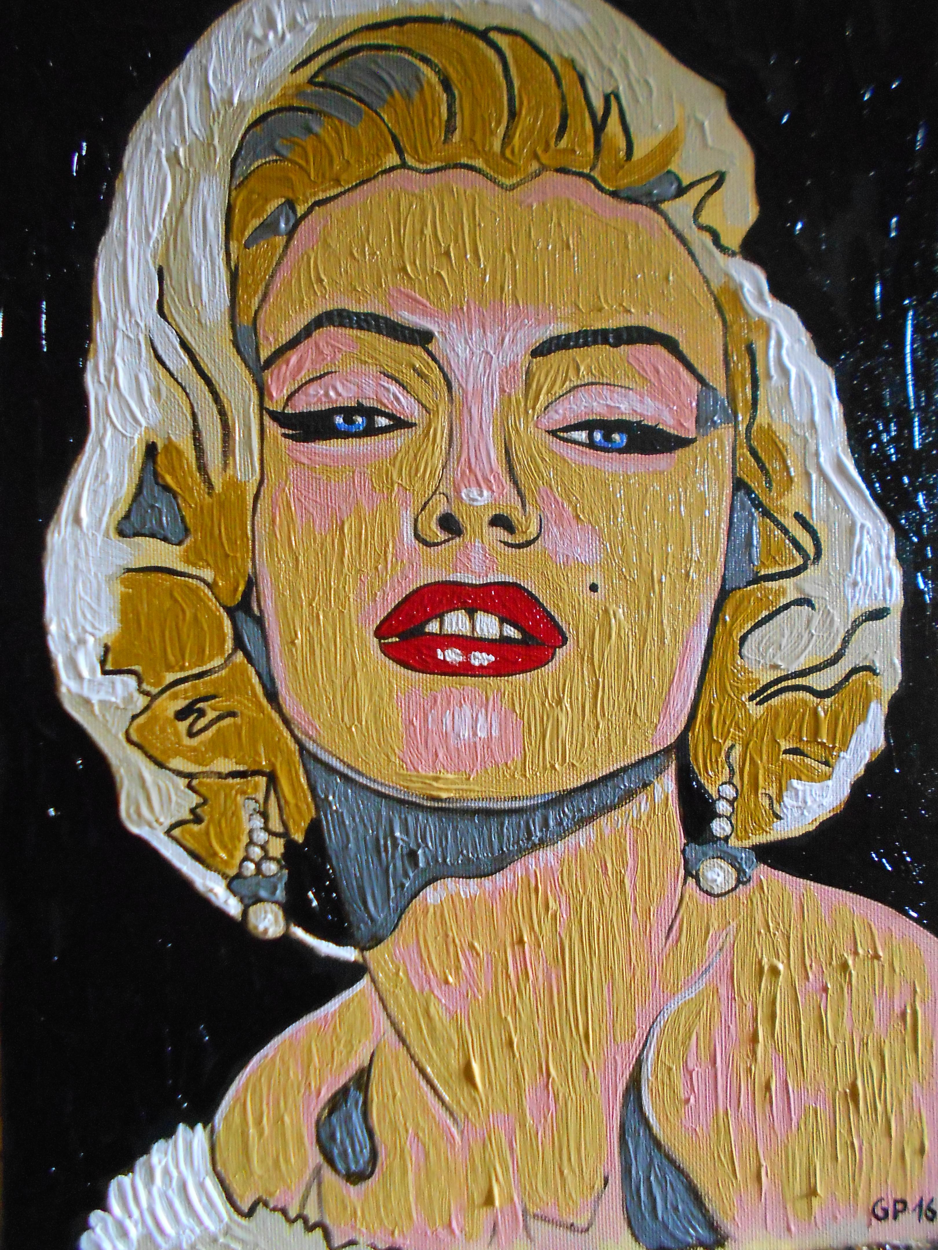 Quadri vendita online: Ritratto di marilyn monroe - MediaJob.eu ...