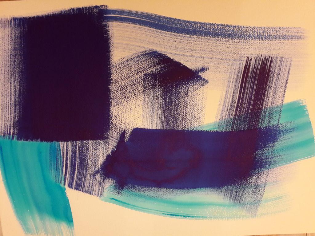 'Sottrazione blu'