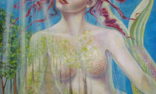 Venere olio su tela