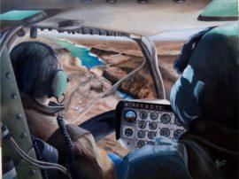 Dipinto quadro olio su tela AB206