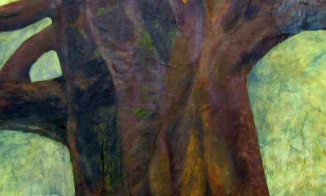 Dipinto Baobab. Artista Alessandra Bisi