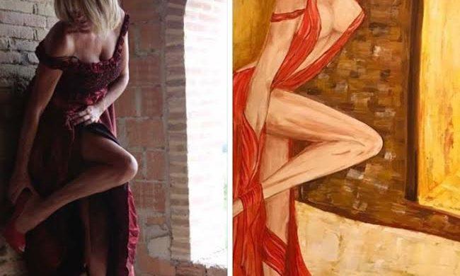 Dipinto Artista Stefania Chiaraluce