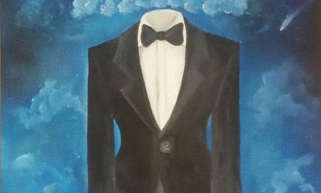 Fra le nuvole - Dipinto olio su tela