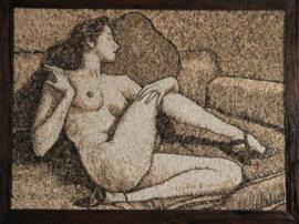 Dipinto Ginevra. Artista Rudi Marcuzzi