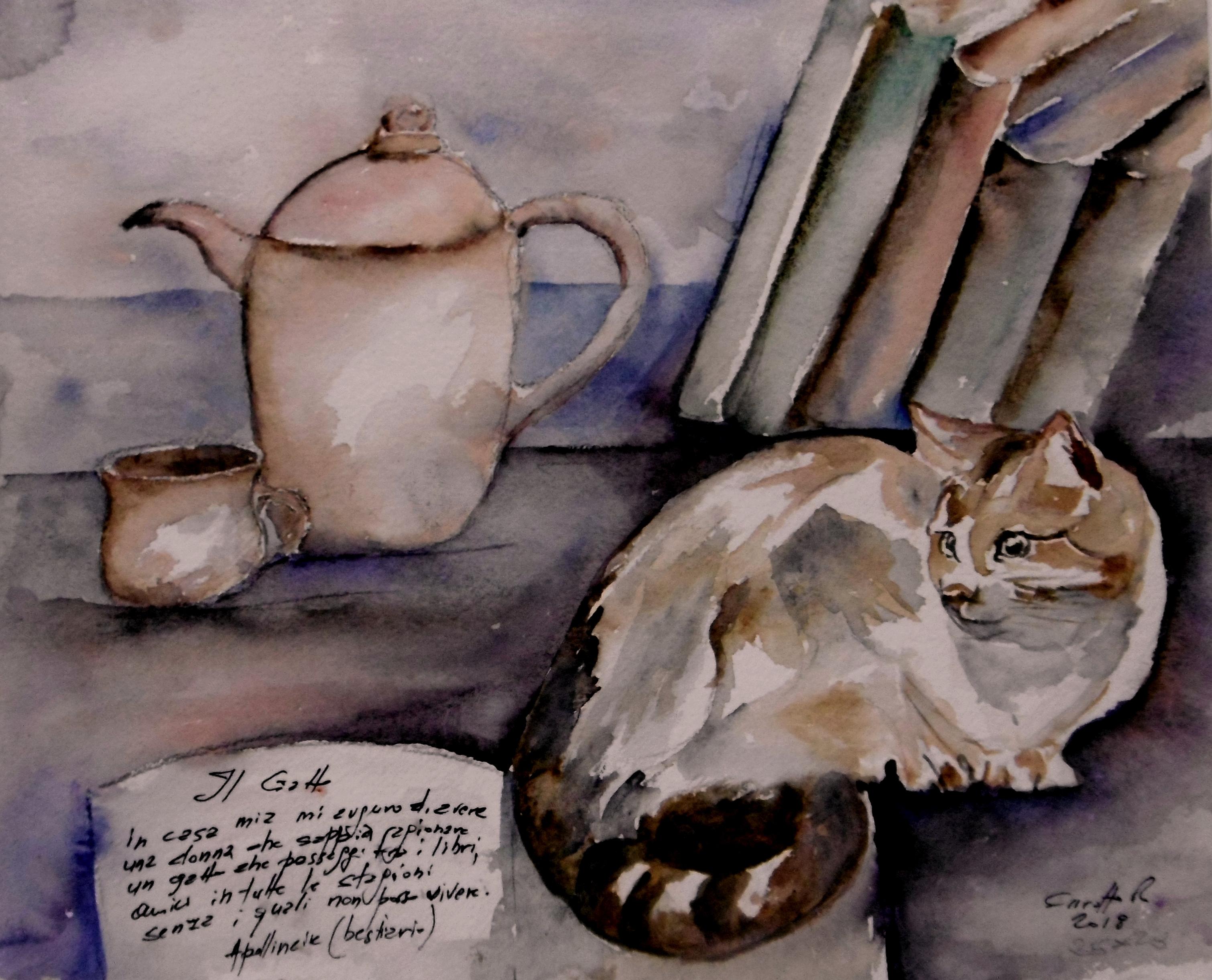 Risultati immagini per quadri e immagini di gatti