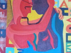 Abbraccio dipinto