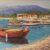 Barchette a riva dipinto