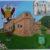 Dipinto ad olio su tela del Castello di Giarole