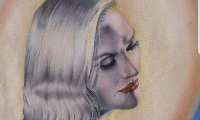 Dipinto donna