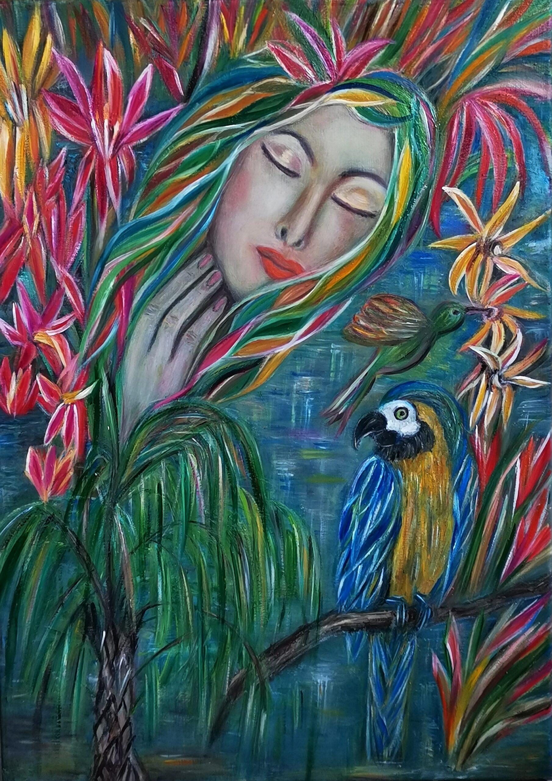 Dipinto la primavera. Mediajob.eu – il sito d'arte e degli artisti.