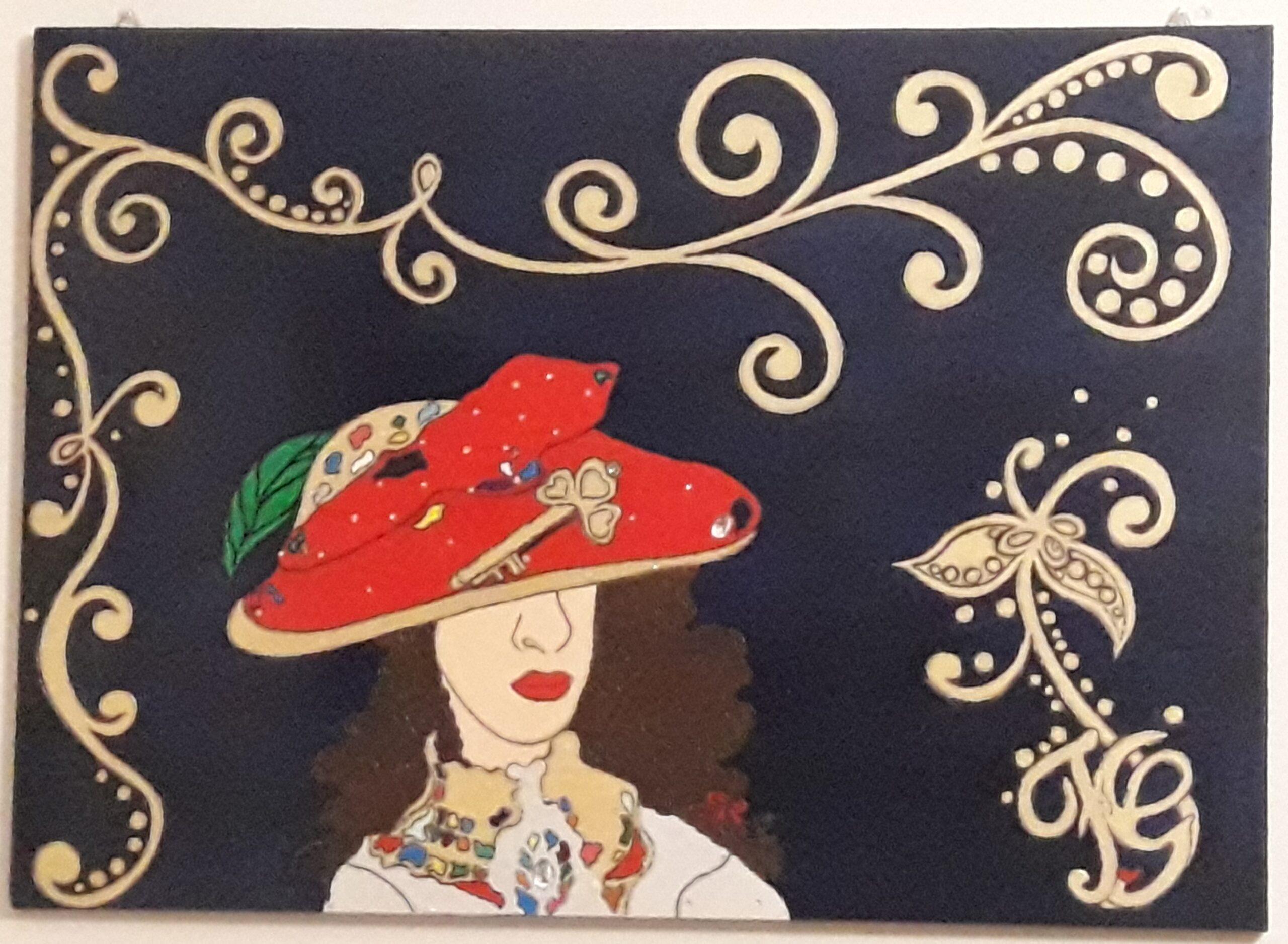 La voce del silenzio. Dipinto Florinda Giannone. Mediajob.eu - il sito d'arte e degli artisti.