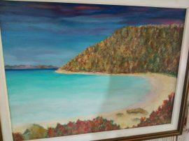 Dipinto spiaggia